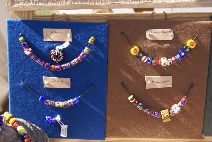 historical beads Hedeby Viking market Sarah Dahl blog