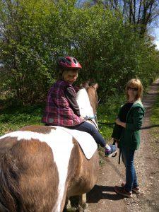 Sarah Dahl horse gut