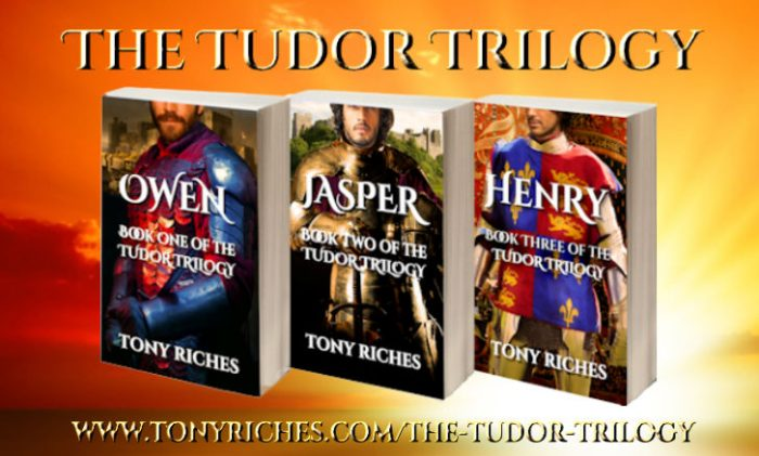 The Tudor Trilogy by Tony Riches for Sarah Dahl